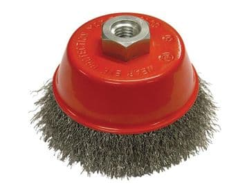 Wire Cup Brush 75mm M14x2, 0.30mm Steel Wire